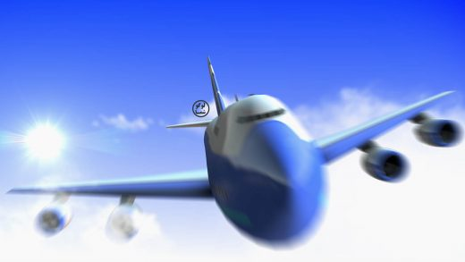ویدیو کلیپ تیزر آسمان و هواپیما