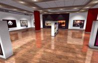ویدیو کلیپ حرفه ای گالری نمایشگاه عکس و تصاویر