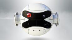 تیزر نمایش لوگو ربات چشمک زن