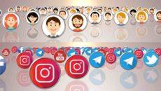 تیزر رسانه های اجتماعی و معرفی محور