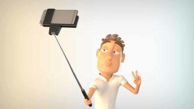 انیمیشن و آرم استیشن عکس سلفی
